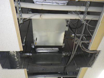 天井内取り付け電気式空調設備