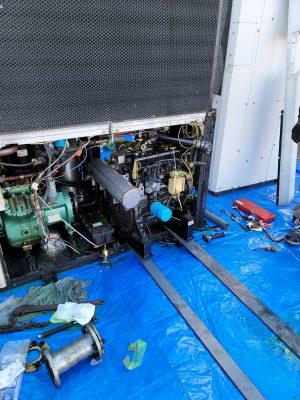 ガスヒートポンプエアコン修理